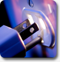 plug in the power cord