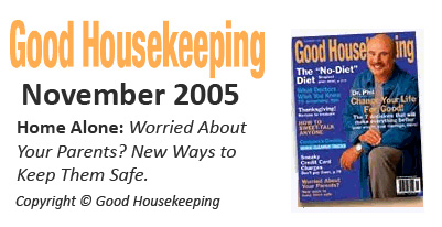 Medical Home Alert featured in November 2005 Good Housekeeping