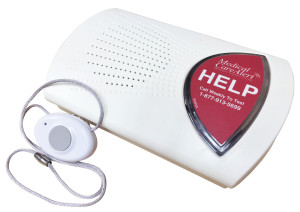 Personal Emergency Response System with Fall Detection Button