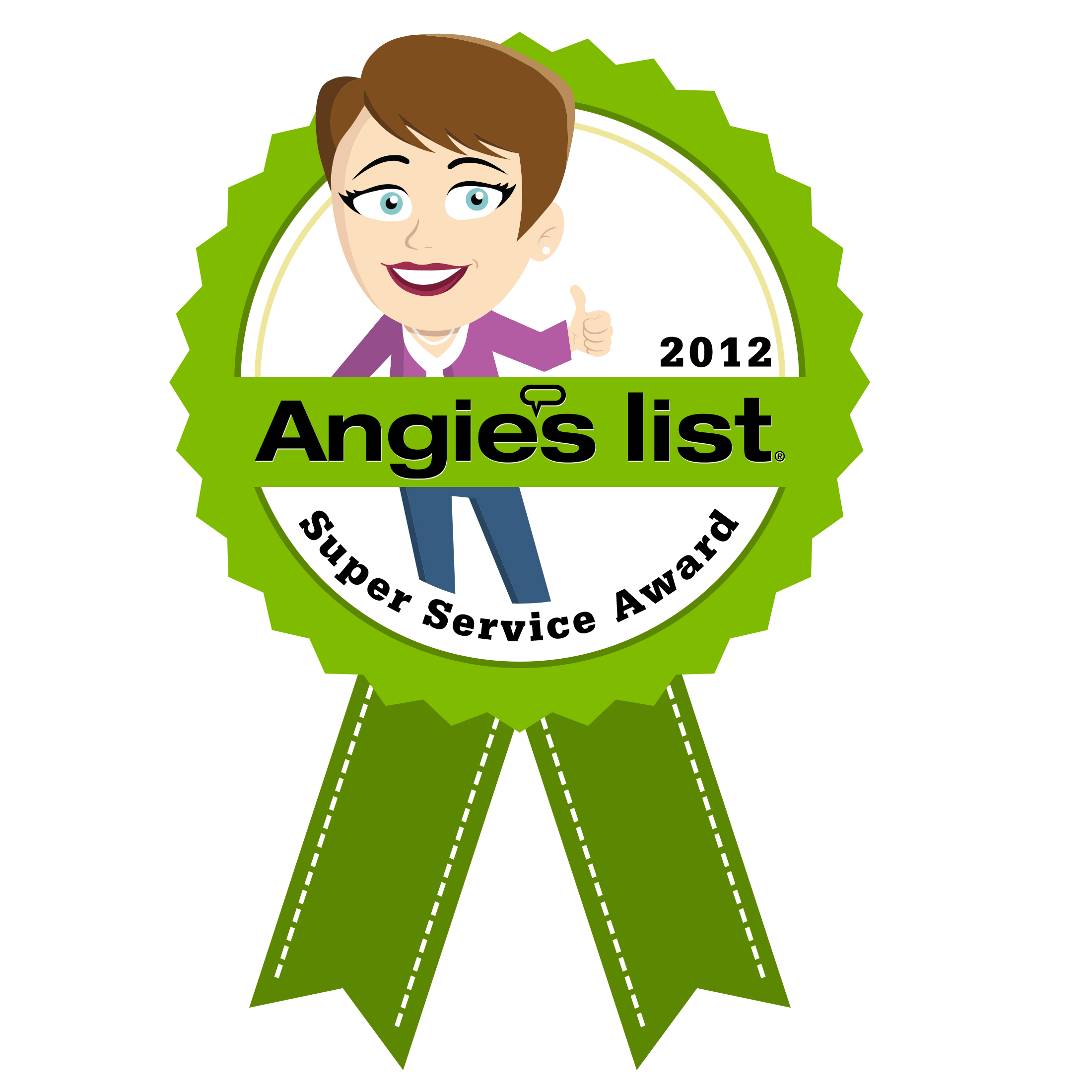 Angie's List 2012 Super Service Award to Medical Care Alert
