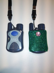 Medical Alert Button With Green Cover